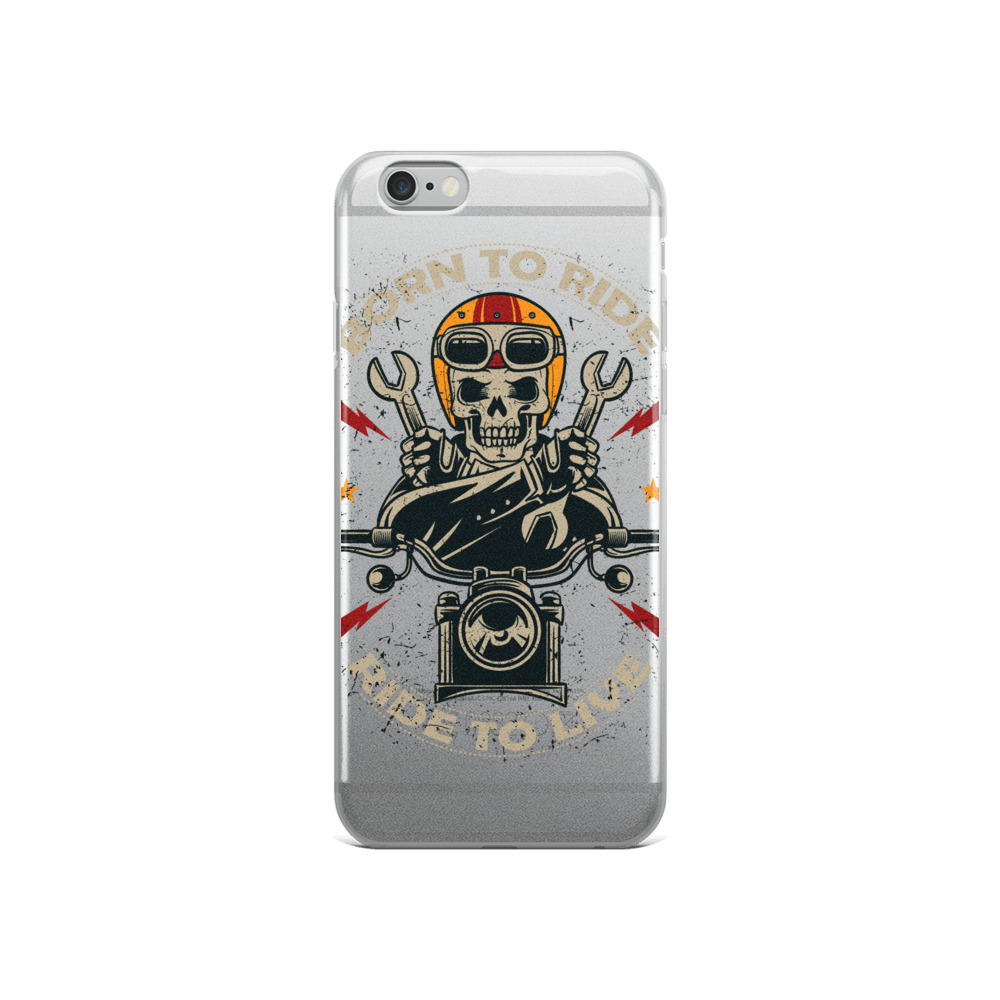 Coque iPhone Born To Ride